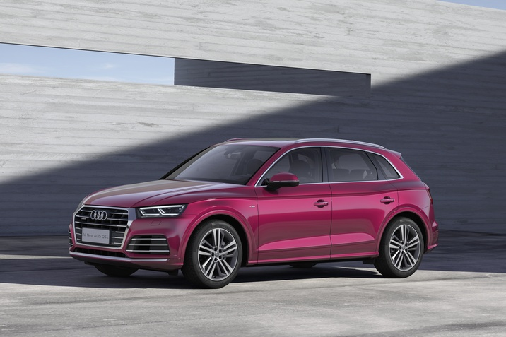 Az Audi első SUV modellje