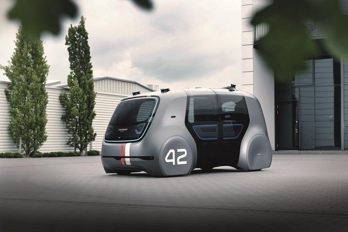 önvezető elektromos jármű
