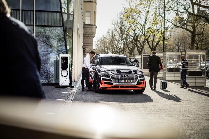 Elektromos Audi